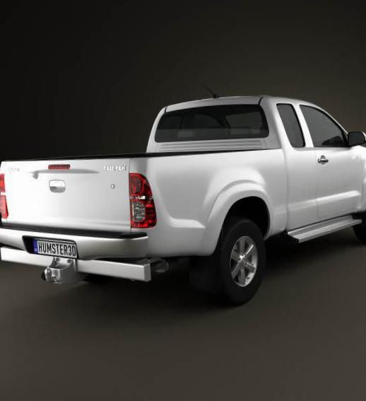 Hilux Extra Cab Toyota approved - http://autotras.com