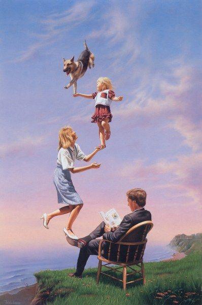 Работы Джима Уоррена (21 картина) »   - Art Jim Warren  RadioNetPlus.ru развлекательный портал
