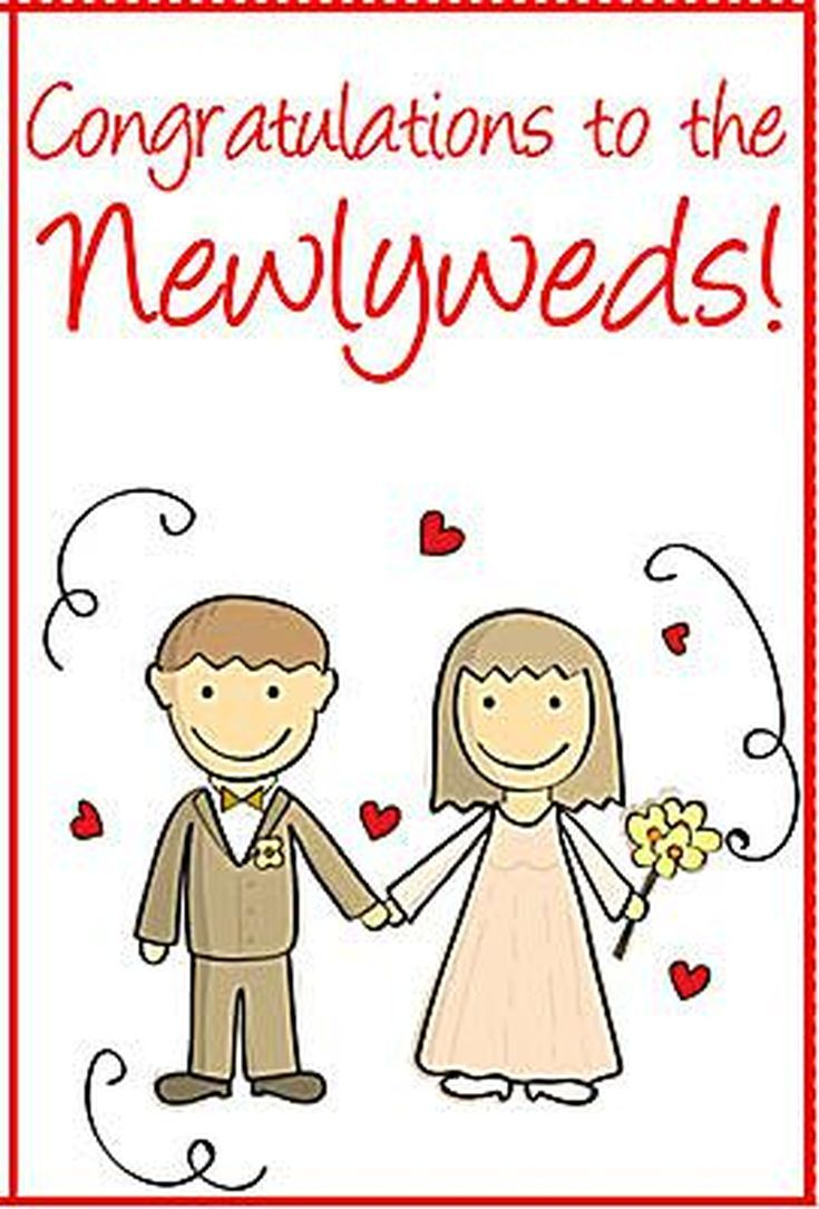 Say Congrats With A Free Printable Wedding Card Wedding Cards Wedding Congratulations Card Free Wedding Printables