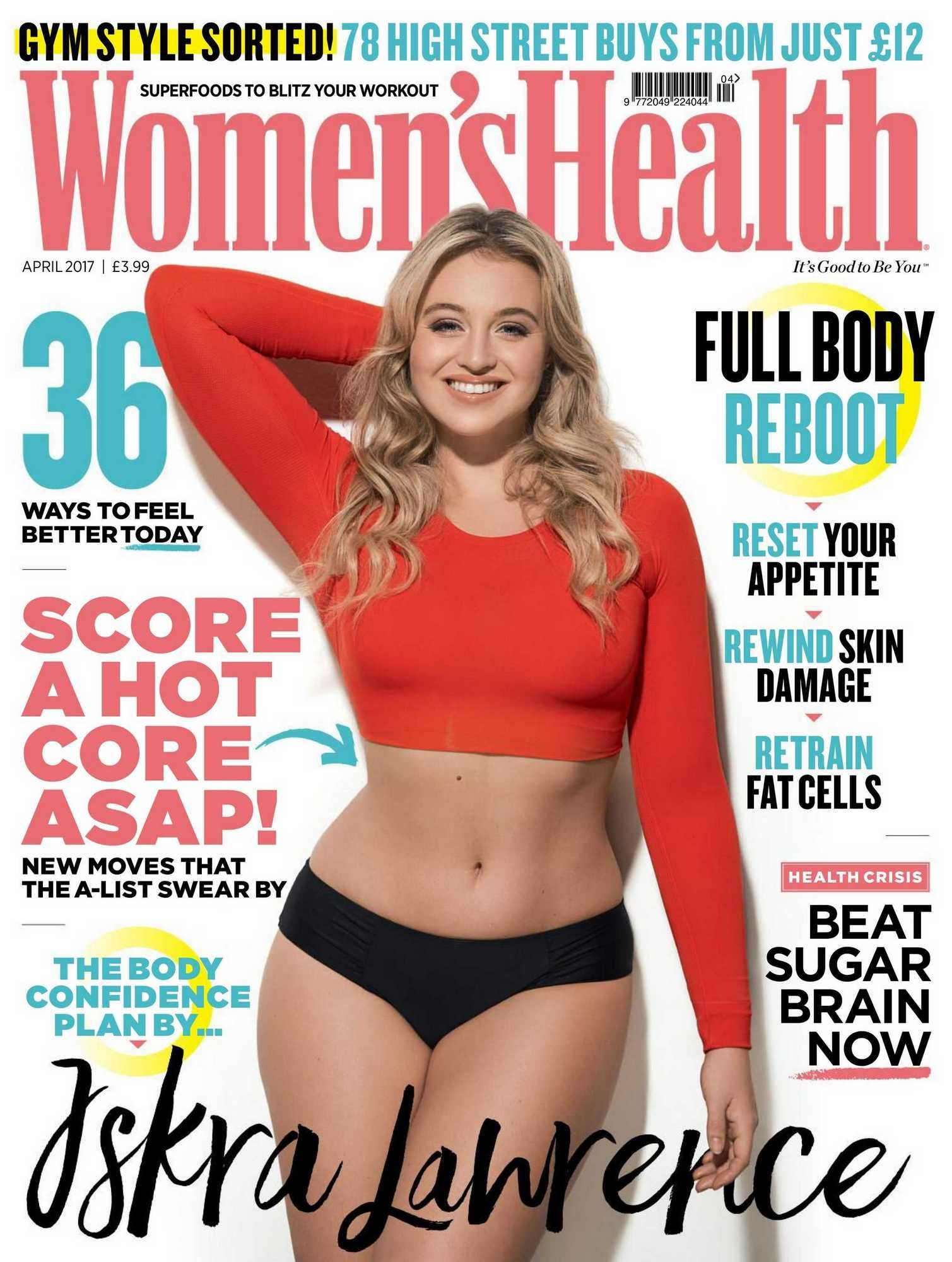 Gina carano diet plan and workout routine healthy celeb - Iskra Lawrence Women S Health Uk April 2017 Elite Girl Squad The Best Celebrity