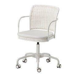 GREGOR Chaise pivotante - -, blanc/Vittaryd beige clair - IKEA