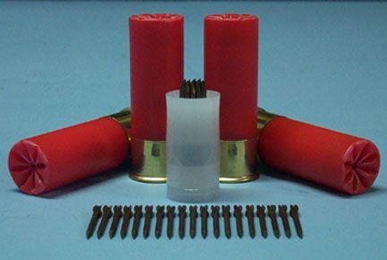 Flechette bore safe flechette sabot and flechettes   weapons   guns, firearms