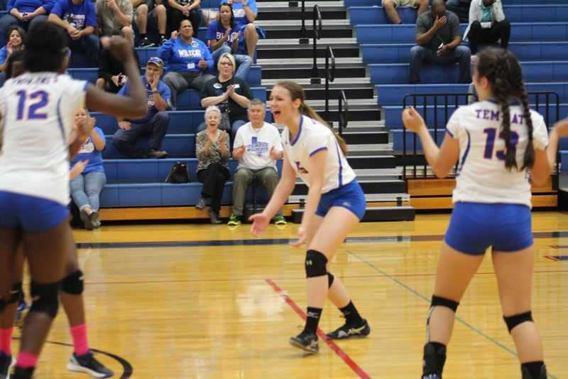 Tem Cat Volleyball Vs Waco Temple Wildcats Temple High School Sports High School Sports School Sports Volleyball