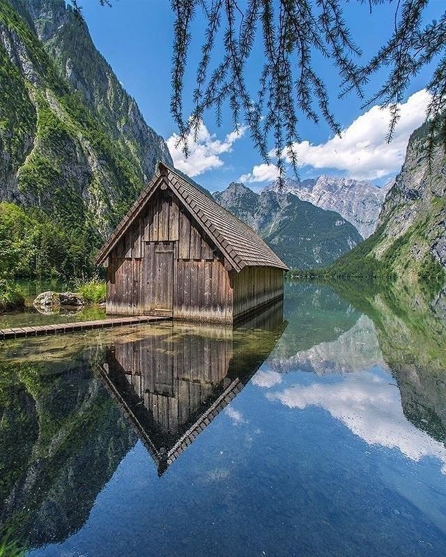 Obersee, Germany Photo by @kyrenian Tag Your Friends 😍