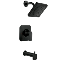 Photo of Genta Matte black one-handle bathroom faucet  — 84760BL#84760bl #bathroom #blac…