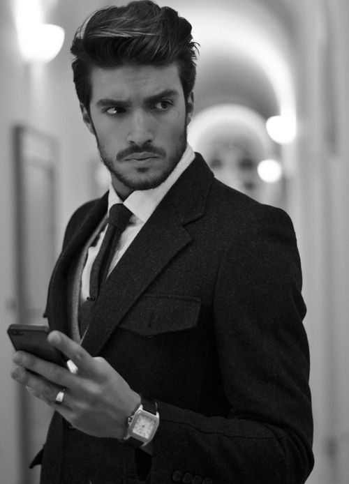 Every man needs a black suit. Men's style. For skin, try Natures ...