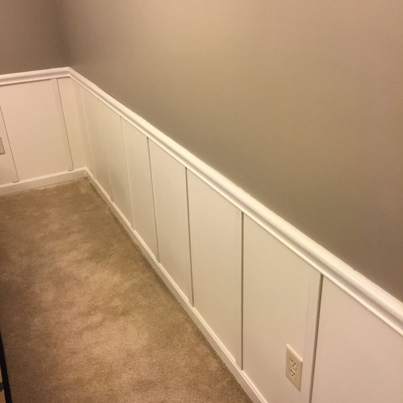 DIY Board And Batten, Wainscoting, Easy And Affordable