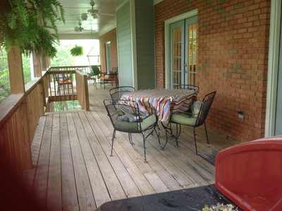 Please vote for this entry in You Could Win a Porch Makeover!! I need everyone to vote for my porch in the Southern Living Porch Makeover. Everyone's invited to a celebration party if we win!! Please vote. --Marissa