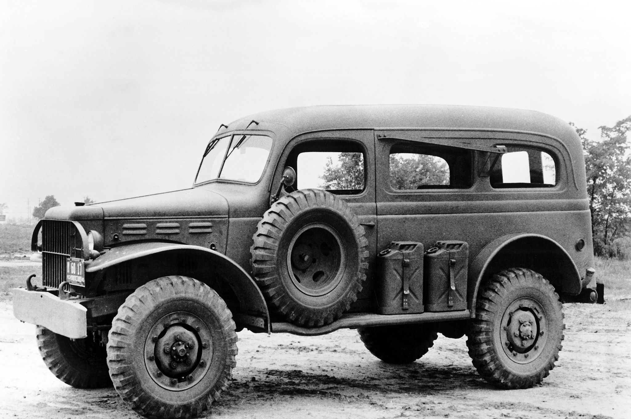 Dodge trucks in wwii - Us Army Dodge Wc