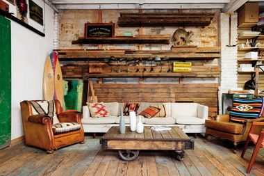 """A new book, """"The Shopkeeper's Home,"""" peeks inside the homes of independent furniture and decor retailers, including Portland's Beam & Anchor."""