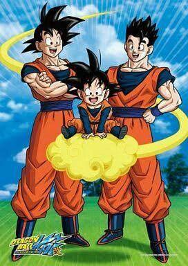 Goku Gohan And Goten Anime Dragon Ball Super Dragon Ball Artwork Dragon Ball Goku