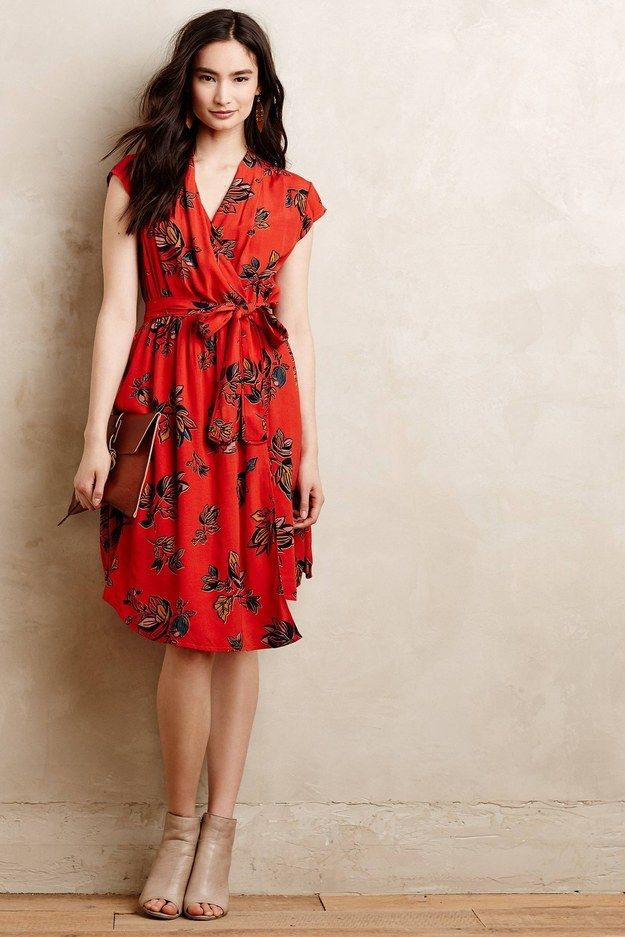 e3fcc56bacb9 Anthropologie Noronha Wrap Dress, $148 | 17 Wrap Dresses That Will Make You  Love Wrap Dresses