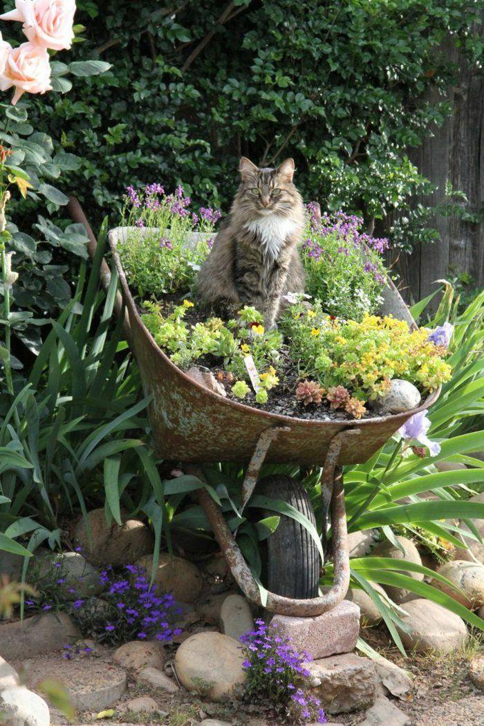 Photo of 90 Deko Ideen zum Selbermachen für sommerliche Stimmung im Garten