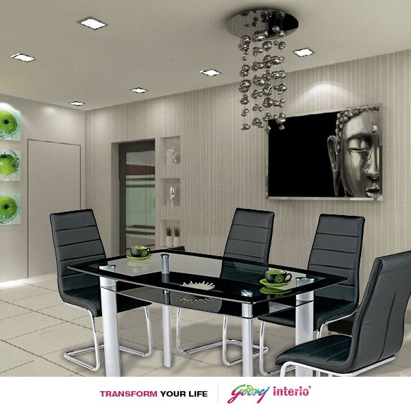 Our Glaze Dining Table Is A Contemporary Design That Brings A Touch Of Ethos To Your Room Godrej Interio Buy Home Furniture Home Furniture Online Furniture