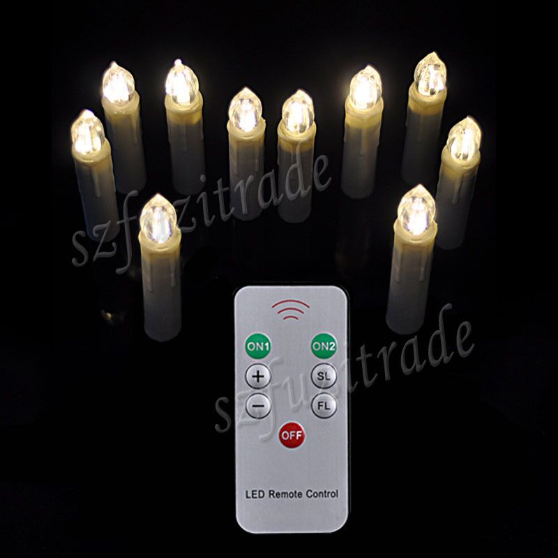 Free Shipping Buy Best 10pcsset Christmas Tree Clip Led Candles