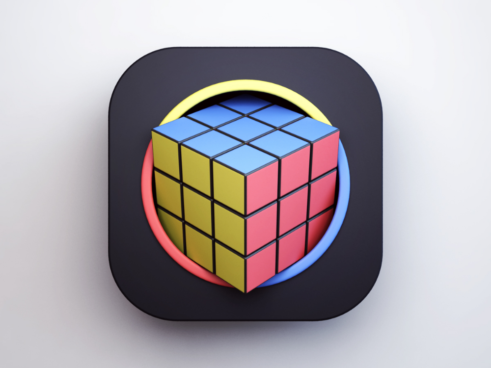Pin By Tjfeng On 3d Rubiks Cube Cube Design