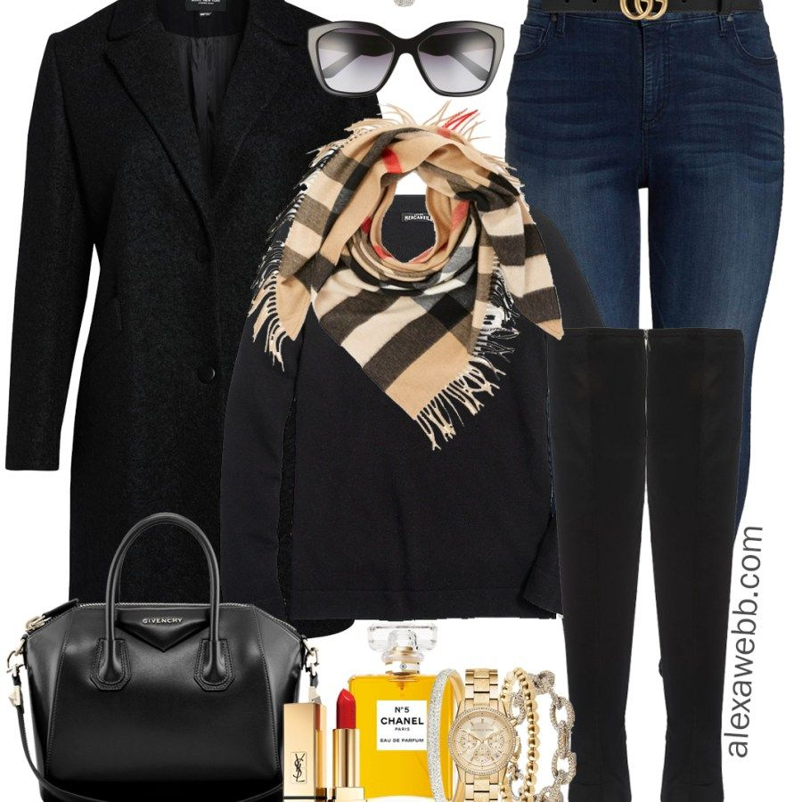 Plus Size Casual Winter Outfit