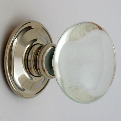 glass door knobs on doors. Merlin Glass Polished Nickel + Door Knobs On Doors