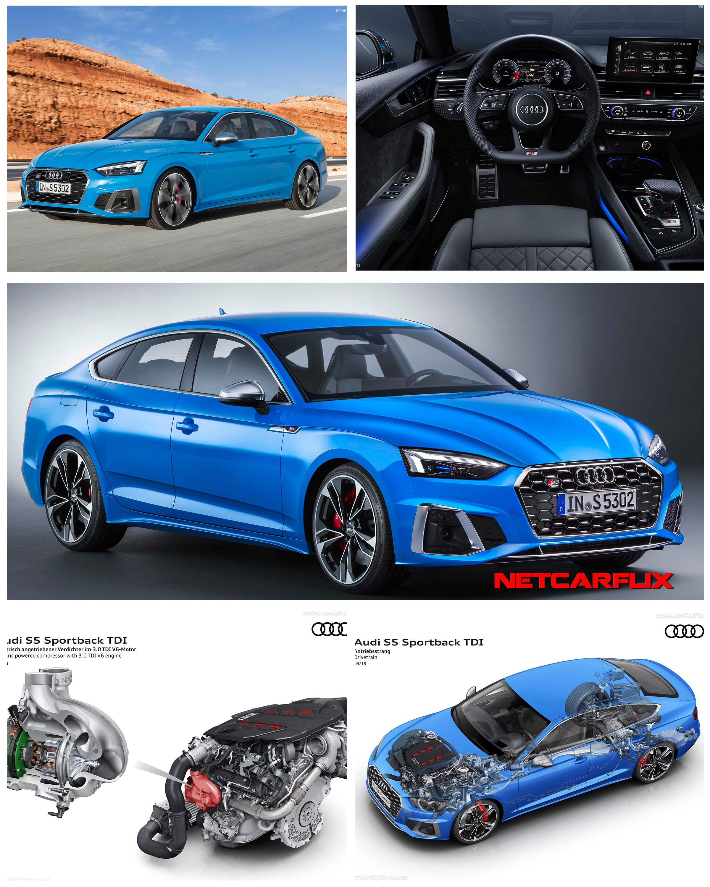 2020 Audi S5 Sportback Tdi Hq Pictures Specs Information And Videos Dailyrevs Audi S5 Sportback Audi S5 Audi