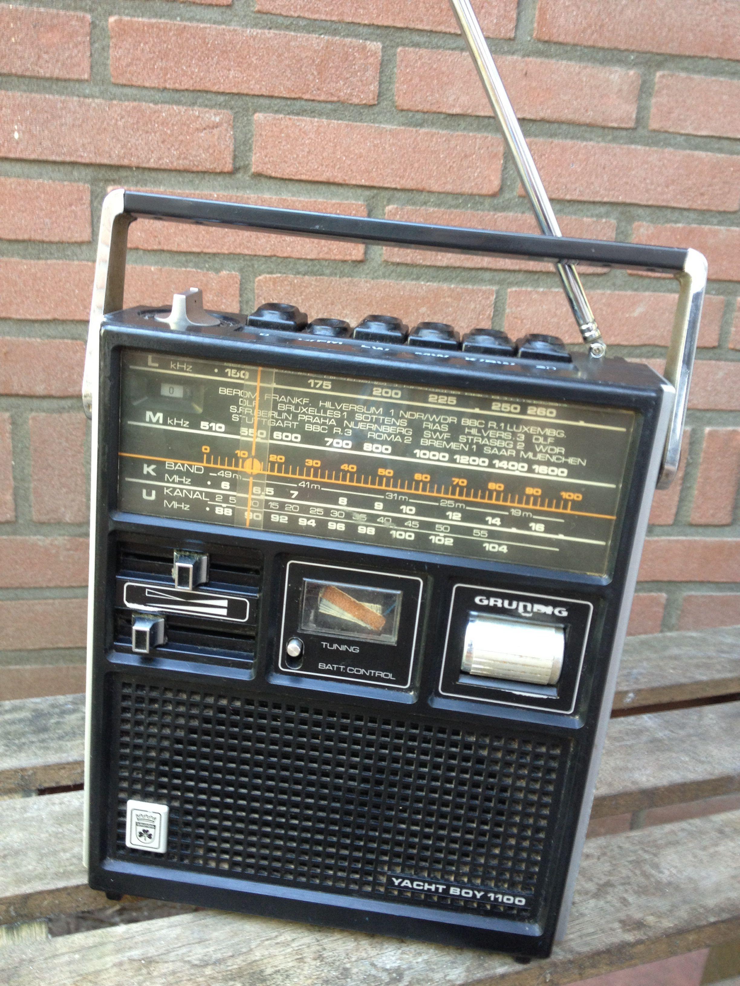 Grundig World Radio With Mechanical Timer In 2018 Amplifier