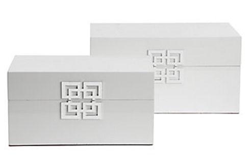 ming boxes set of 2 · Wood Storage BoxDecorative ...  sc 1 st  Pinterest & ming boxes set of 2   DIY Projects   Pinterest   Wood storage ...
