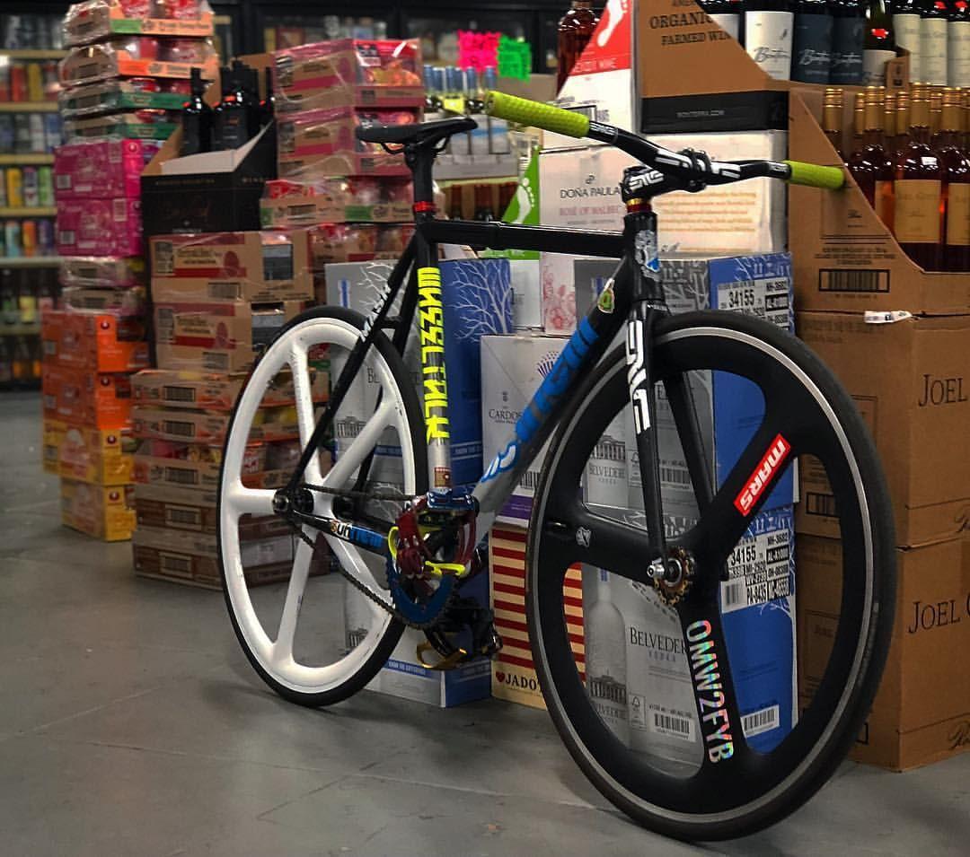 Pin By Amirul Said On Bike Cool Lighting Track Bike Fixie