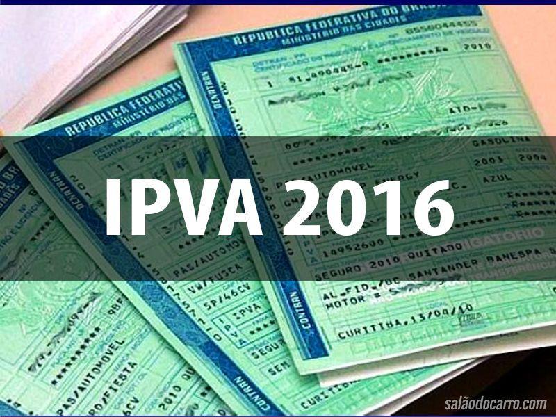 Canadauence TV: IPVA 2016, Consulte calendário e veja como fazer o...