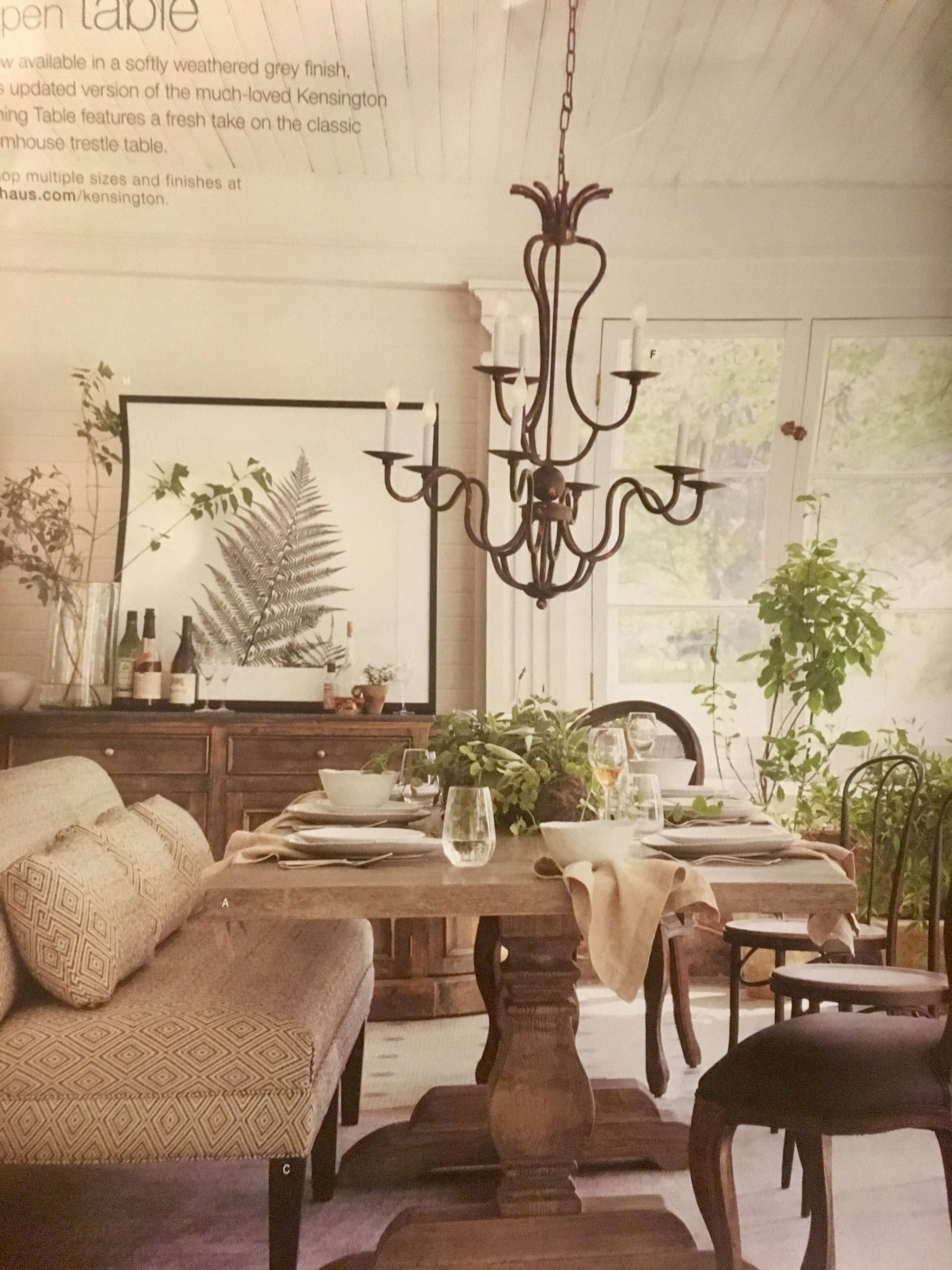 Arhaus Kensington Dining Table