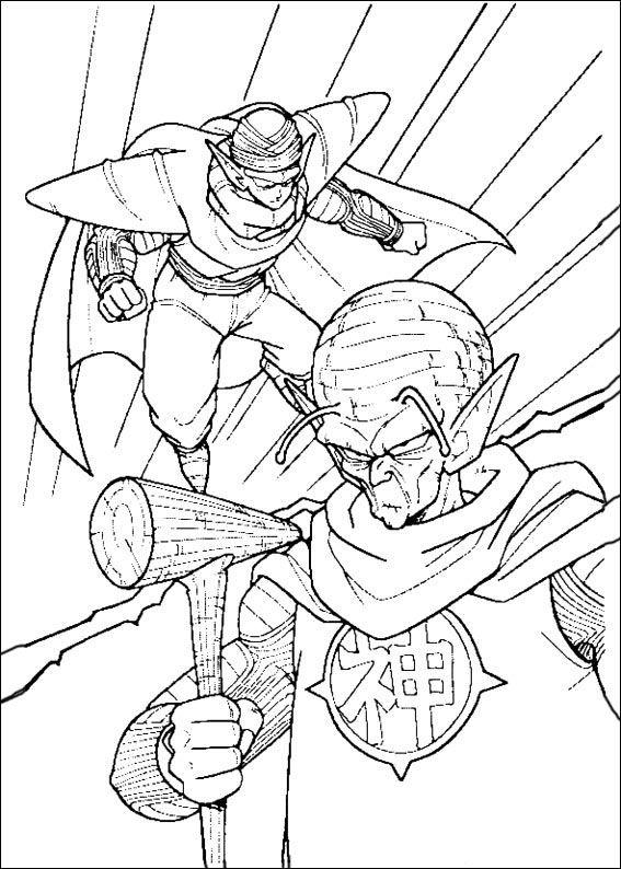 Dragon Ball Z Ausmalbilder. Malvorlagen Zeichnung druckbare nº 85 ...