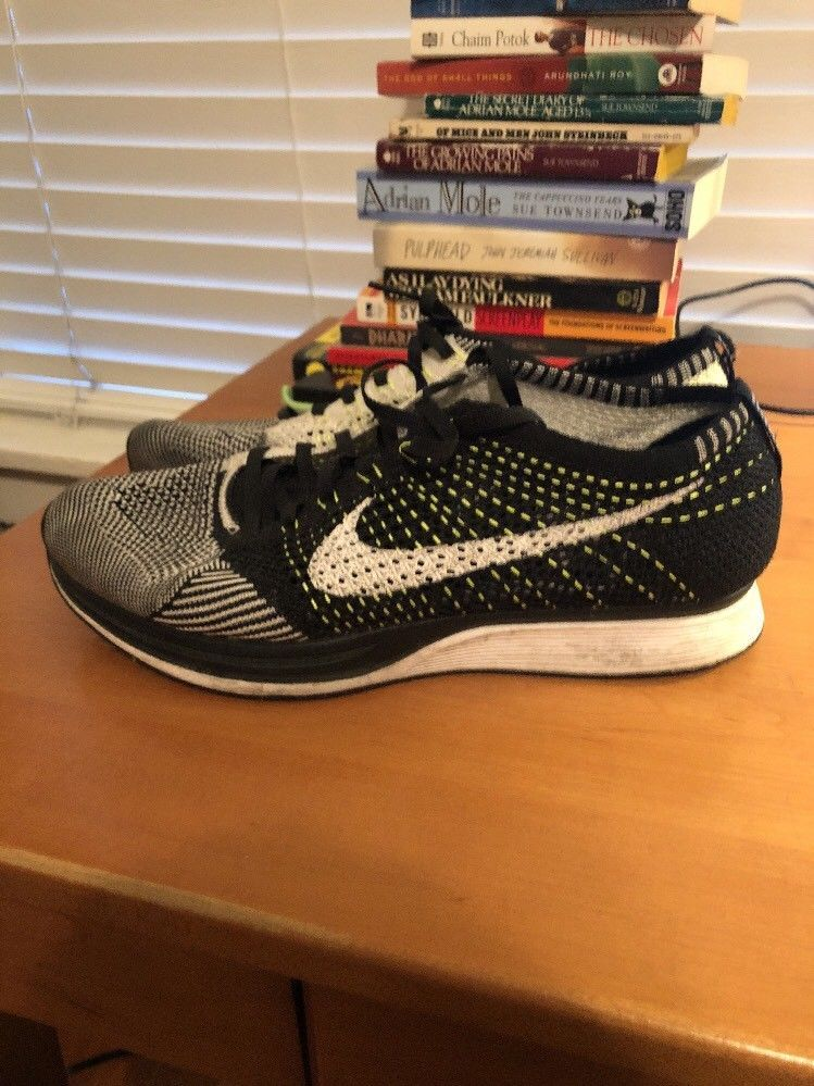 promo code 11d05 de646 Nike Flyknit Racer Oreo SKU 526628 002 Size 10.5  fashion  clothing  shoes   accessories  mensshoes  athleticshoes (ebay link)
