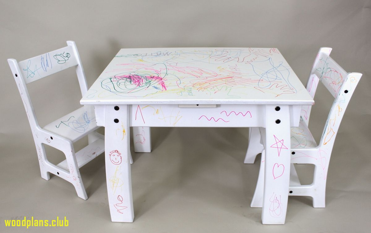 50 Woodworking Plans For Childrens Table And Chairs Cool Modern