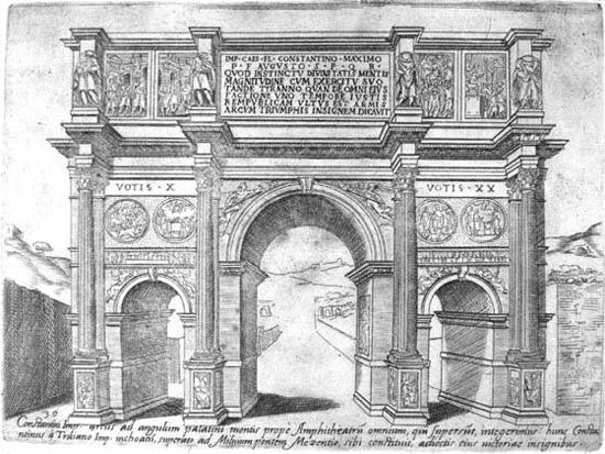 Roman Architecture Drawing arch of constantine architecture - google search | printmaking