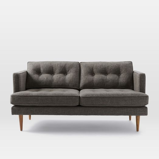 Super Peggy Loveseat West Elm 64 5 W X 34 H X 36 D 1199 Caraccident5 Cool Chair Designs And Ideas Caraccident5Info