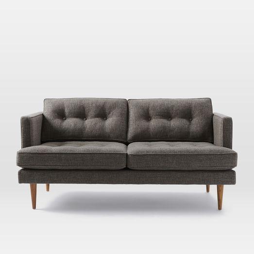Prime Peggy Loveseat West Elm 64 5 W X 34 H X 36 D 1199 Machost Co Dining Chair Design Ideas Machostcouk