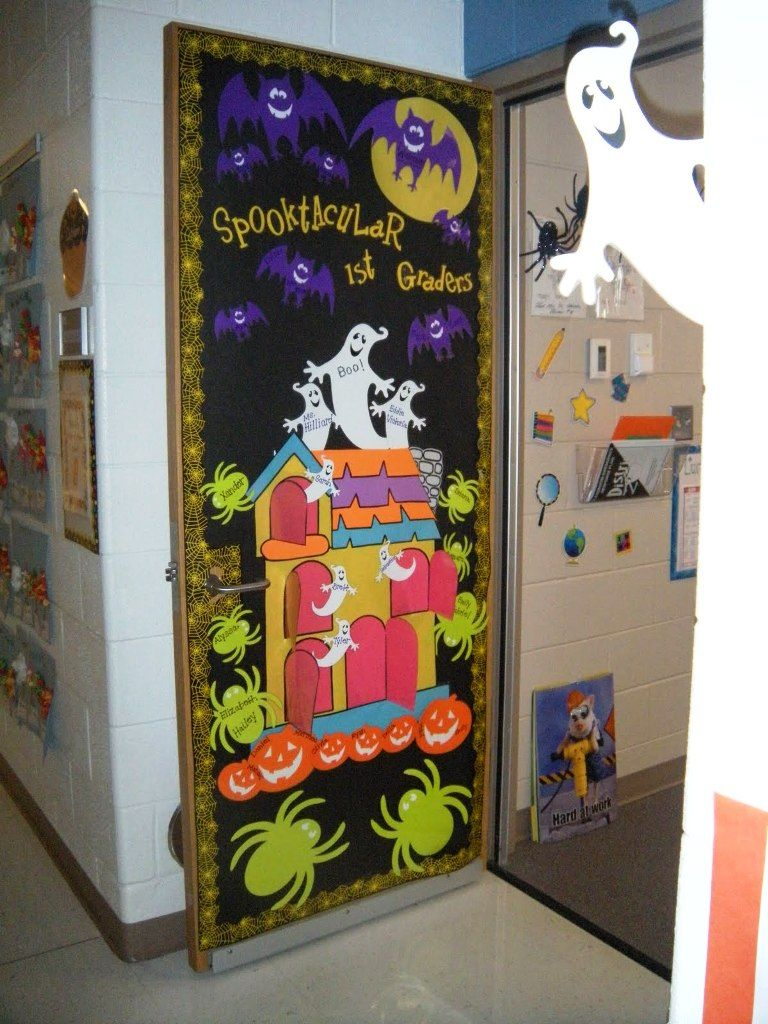 Halloween School Party Decoration Ideas In 2016 School decorations - Halloween Classroom Door Decorations