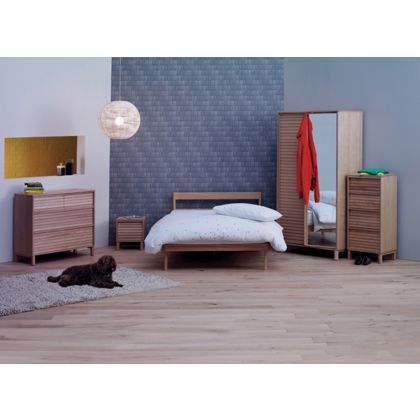 Habitat Tatsuma Ash Double Bed at Homebase -- Be inspired and make ...