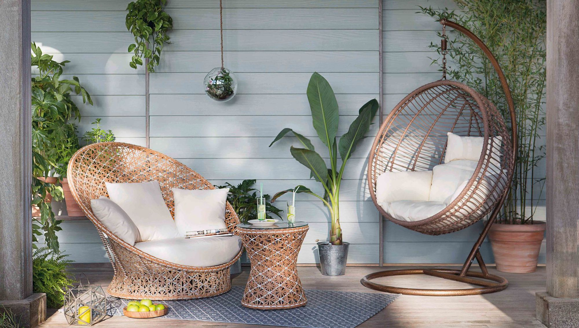 Déco jardin : ambiance lounge et cosy | jardin - terrasse | Small ...