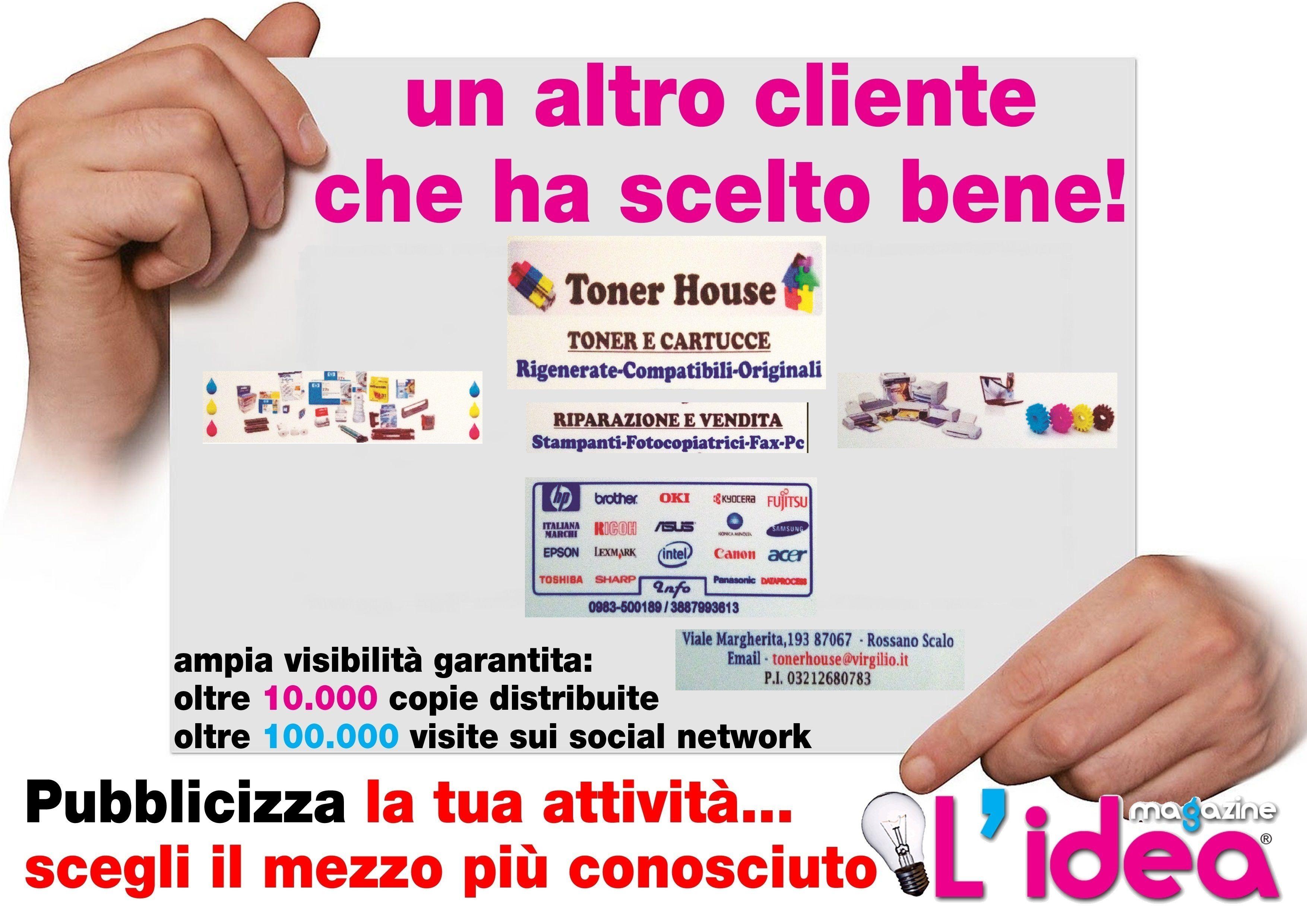 Centro Ceramiche Rossano.Grafica Da Noi Realizzata Per Toner House Rossano Cs I