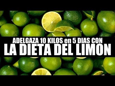 bajar 7 kilos en 5dias con la dieta del limon