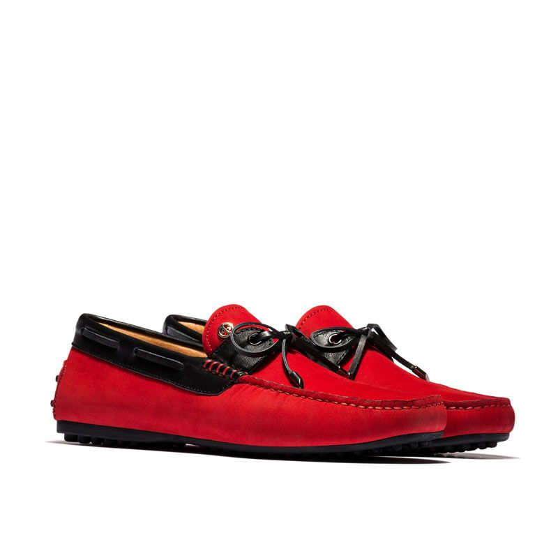 0b985c68c356 DRIVING SHOES RED  OD619-red  -  98.99 - OPP FRANCE – French Designer  Fashion Shoes Online Store