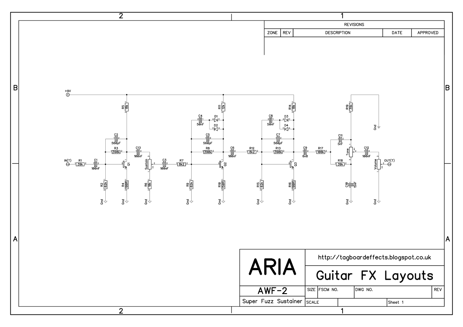 Collection Of Vero Stripboard Tagboard Layouts For 100s Of Popular Guitar Effects With Over 500 Verified Designs Guitar Guitar Effects Electronics Design
