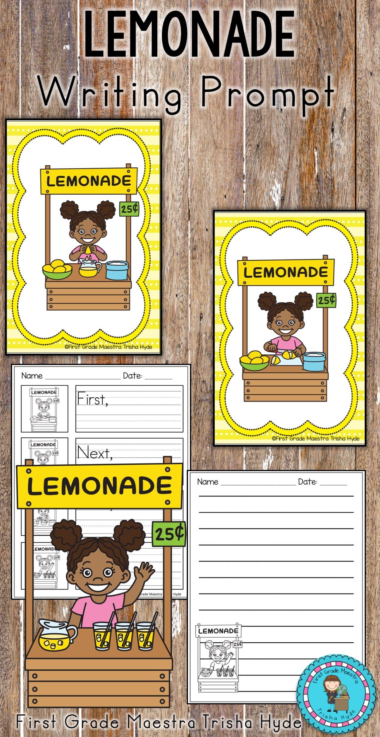 Lemonade Writing Prompt