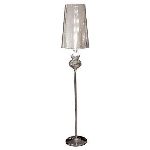 Febland Tall Silver Shade Standard Lamp