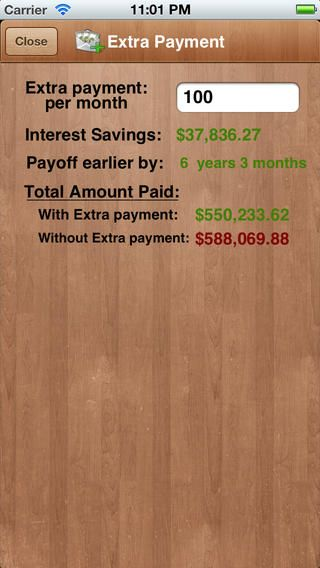 mortgage calculator extra payment amortization by mobile innovations llc mortgage tips pinterest calculator