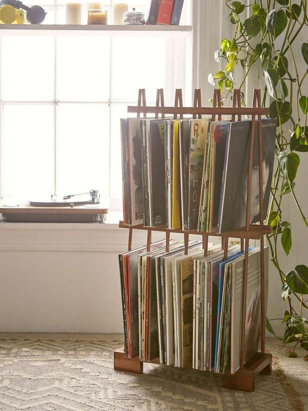 9 Ways To Show Off Your Love Of Vinyl At Home Vinyl Storage Vinyl Record Storage Paint Storage