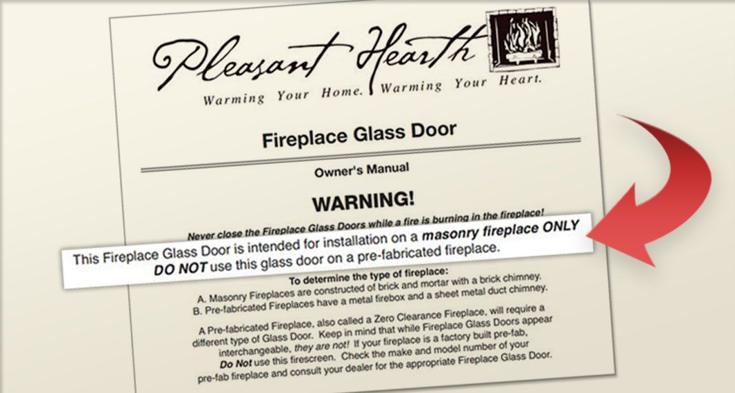 Fireplace Door lowes fireplace doors : WHY HOME DEPOT, LOWES, AMAZON DO NOT SELL GLASS DOORS FOR ...