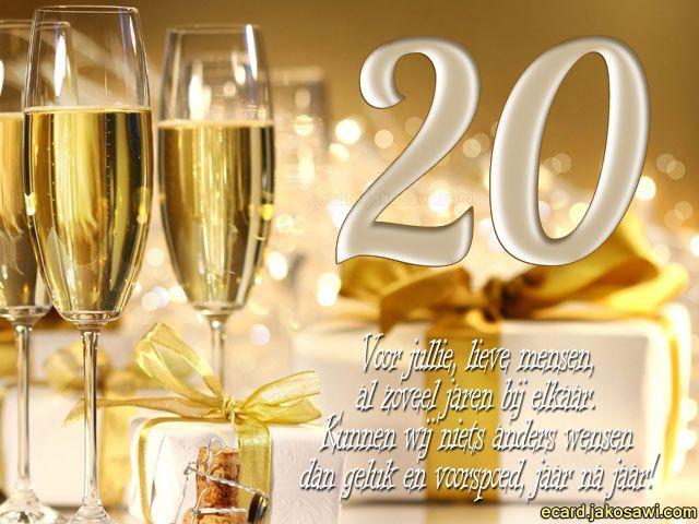 20 jaar getrouwd feest Afbeeldingsresultaat voor 20 jaar getrouwd | Verjaardagen/Feest  20 jaar getrouwd feest