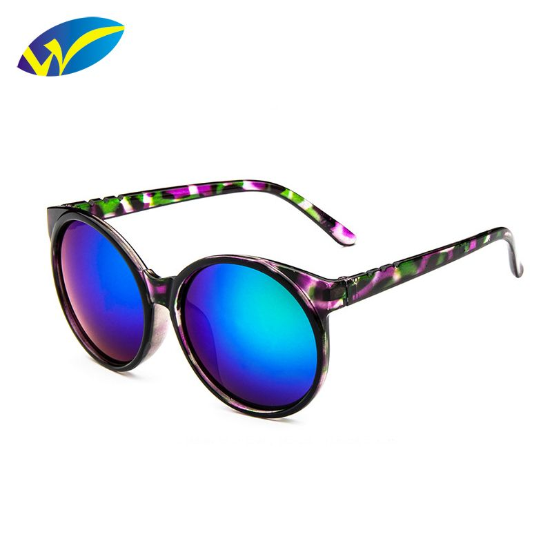 $3.99 (Buy here: http://appdeal.ru/7dqb ) 2016 Brand Fashion Multicolour Sunglasses Vintage Oval sun women men shades male Eyewear Reflective sun glasses outdoor sport for just $3.99