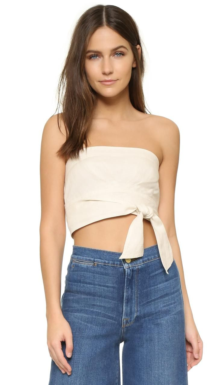 7a6df5d387 Free People Riverside Tube Top White Tube Tops