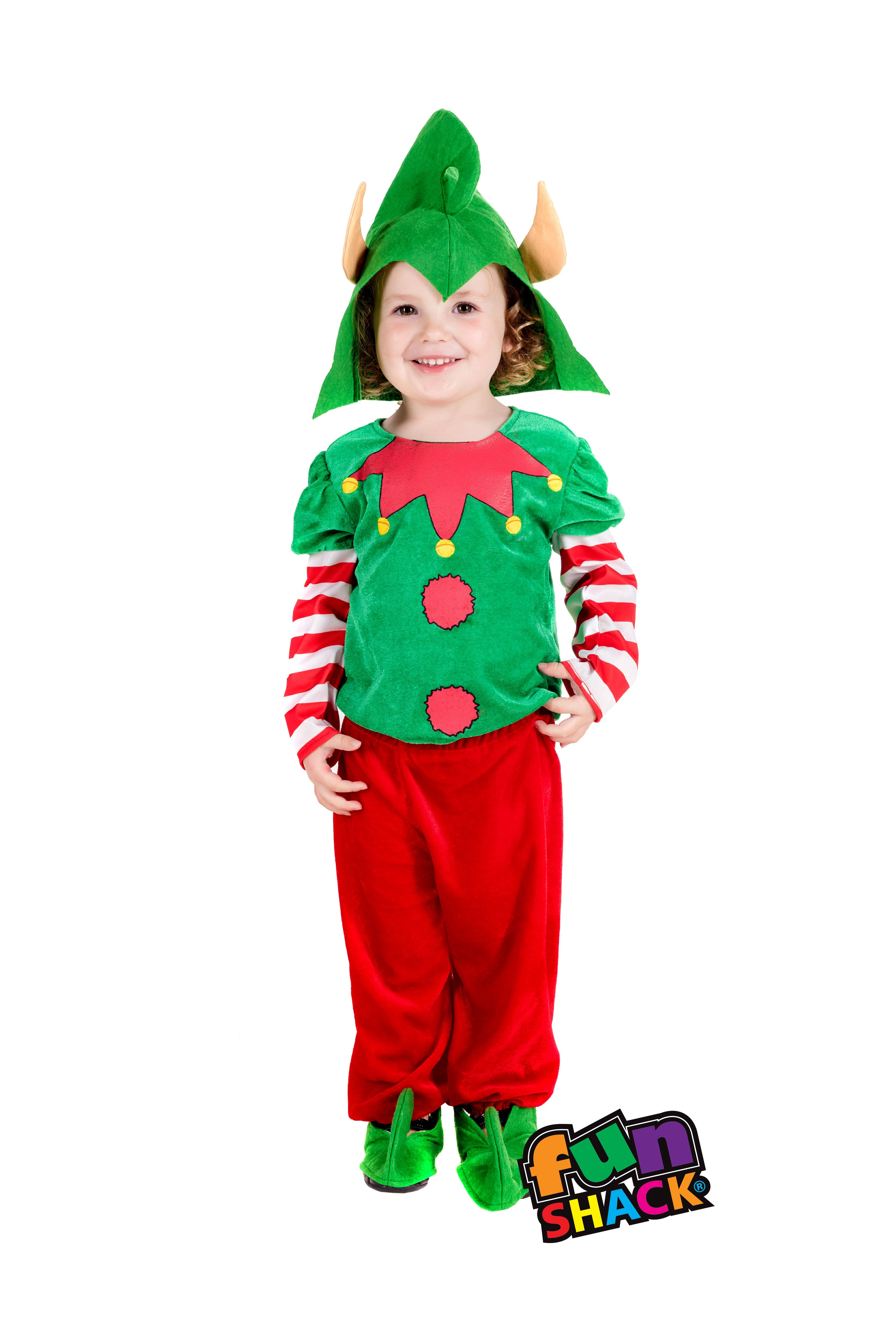 Toddler Christmas Elf Costume Fun Shack Toddler elf